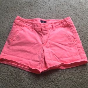 America's Eagle neon pink shorts